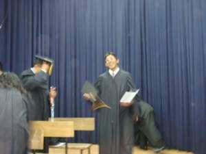 foto 1 de Huber nuestro seminarista que se graduo